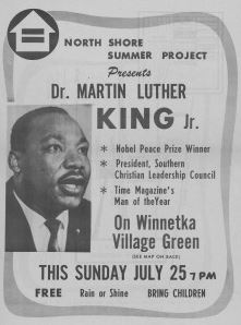 Advertisement for Dr. King's Speech
