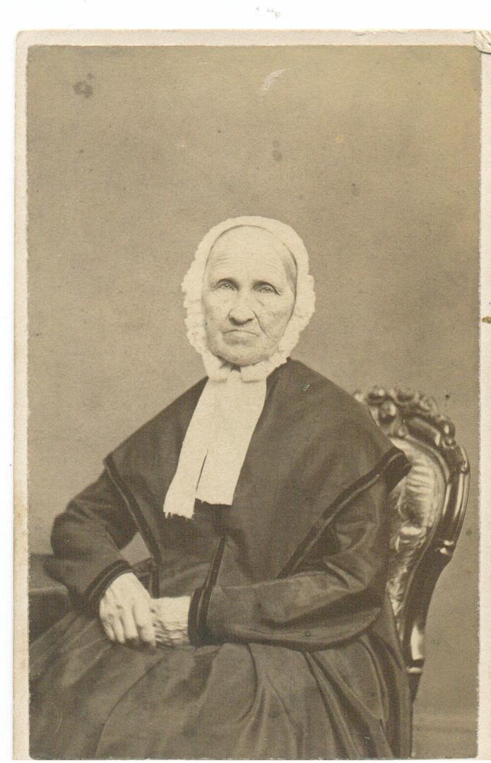 Zeruah Patterson, circa 1890