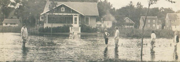 Flooded Winnetka 1924