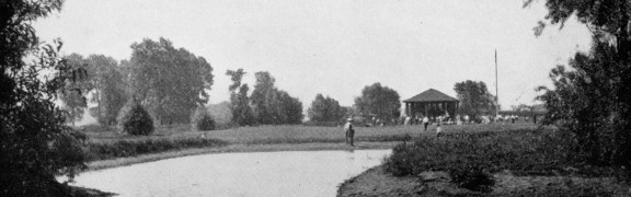 Ninth Hole from the Green, Winnetka Municipal Golf Course, 1918