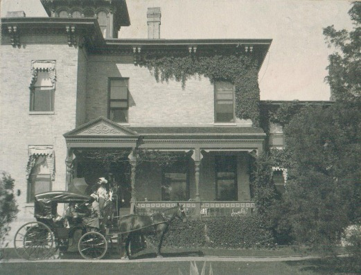 The Former Gage house, 1175 Whitebridge Hill, Winnetka, WHS Object ID 3321.21