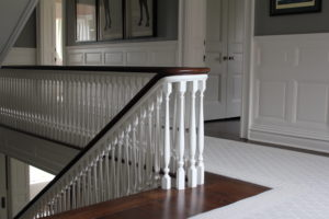 660 Prospect staircase
